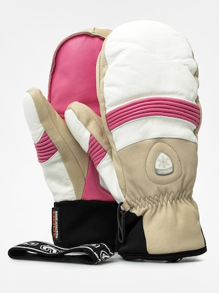 Rękawice Level Off Piste Leather Mitt Wmn (pink)