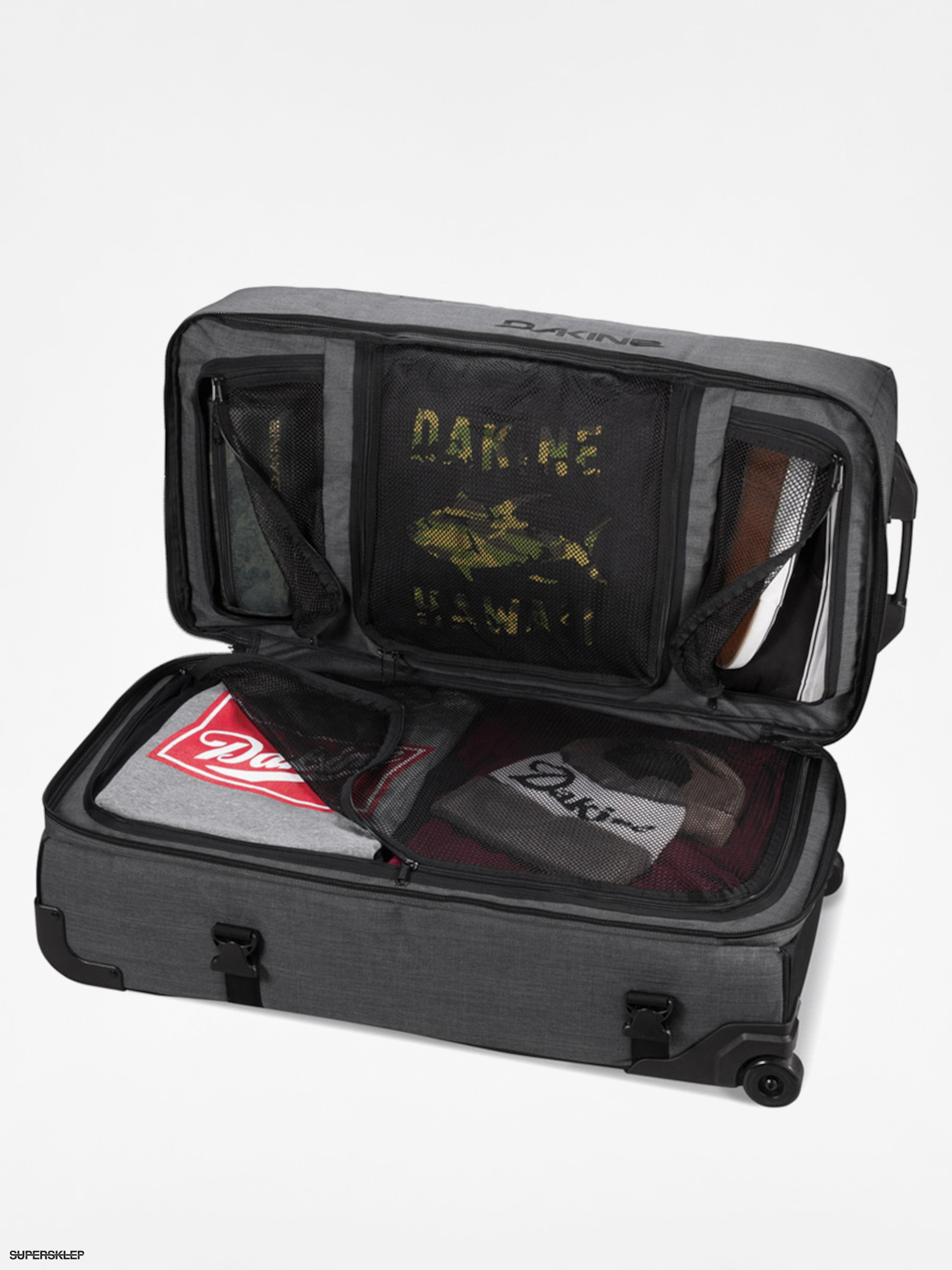 dobra obsługa Darmowa dostawa zamówienie Walizka Dakine Split Roller (carbon 100l)