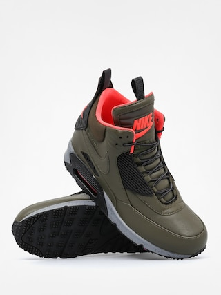 79535538 ... hot buty nike air max 90 sneakerboot wntr dark loden black brght  crimson 44bc8 13d27 italy nike air max 90 sneakerboot winter suede bronze  brown ...