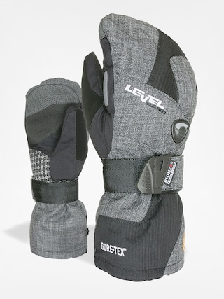Rękawice Level Half Pipe Mitt Gore Tex (anthracite)