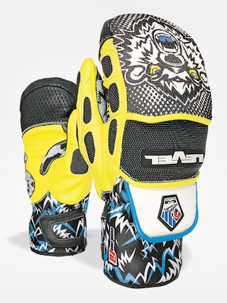 Rękawice Level Worldcup CF Mitt (black/yellow)