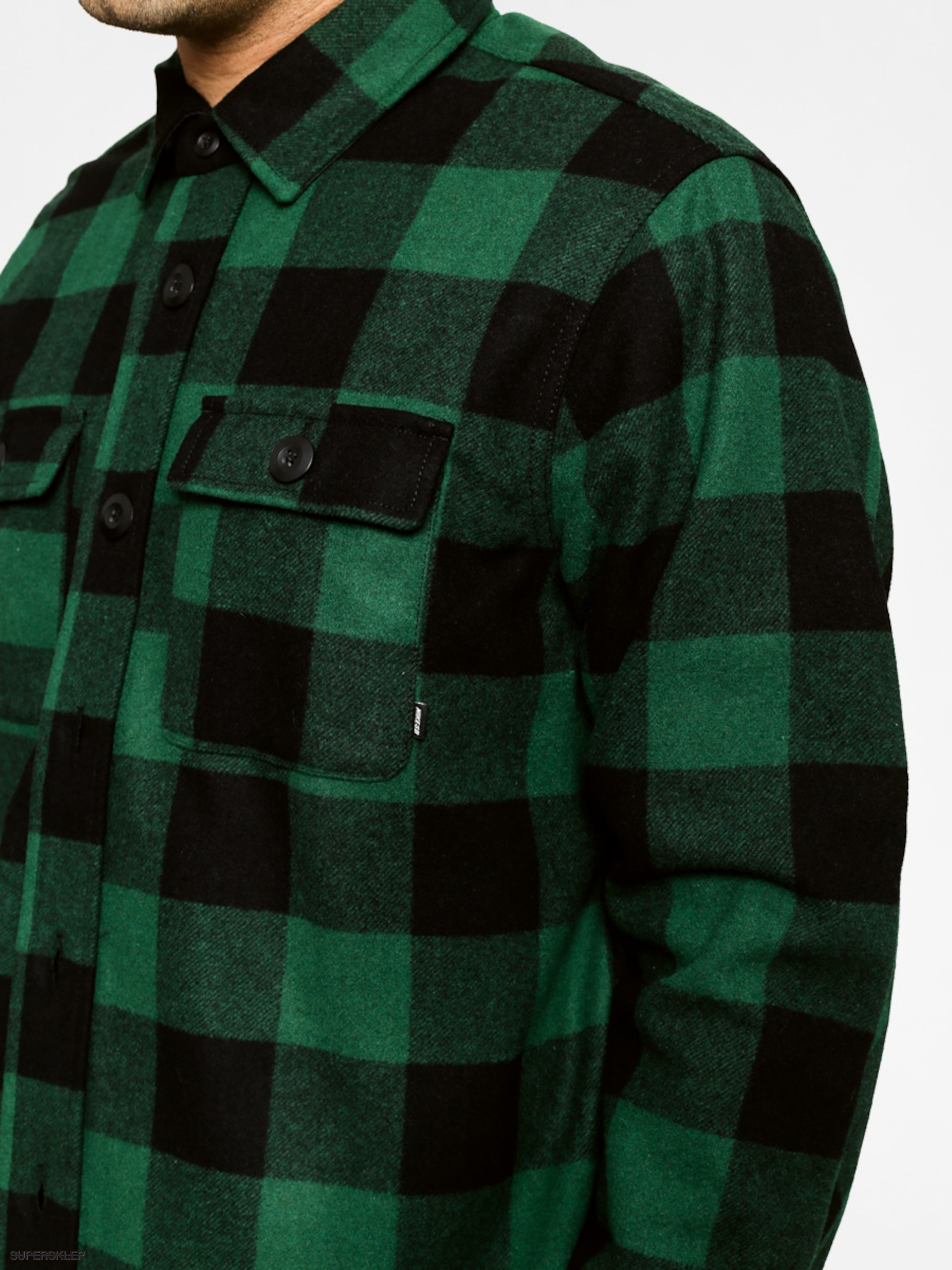 38127901094b8 Koszula Nike Holgate Wool LS (green)