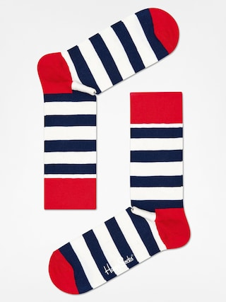 Skarpetki Happy Socks Stripe (red/navy/crem)