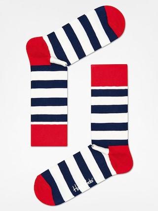 Skarpetki Happy Socks Stripe (red/navy/crem)