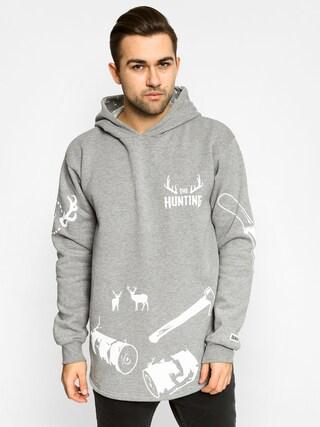 Bluza z kapturem Diamante Wear Forest HD (grey heather)