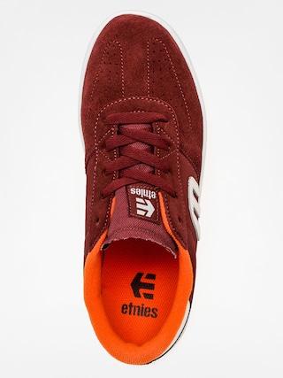Buty dziecięce Etnies Kids Lo Cut (burgundy)