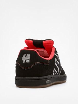 Buty dziecięce Etnies Kids Fader LS (black/red/gum)