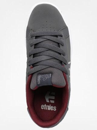 Buty dziecięce Etnies Kids Fader (dark grey/red/white)