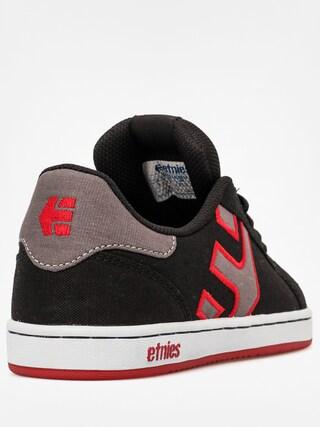 Buty dziecięce Etnies Kids Fader Ls (black/white/red)