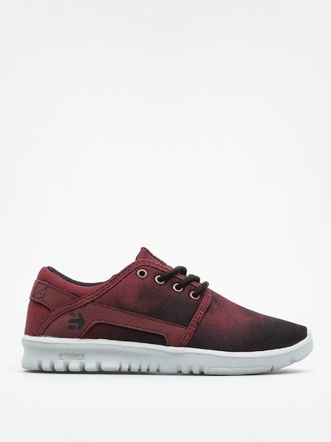 Buty dziecięce Etnies Kids Scout (red/black/grey)