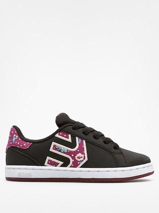 Buty dziecięce Etnies Kids Fader Ls (black/floral)