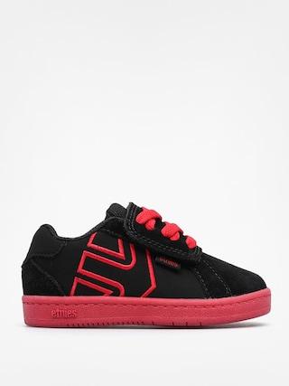 Buty dziecięce Etnies Toddler Fader LS (black/red/black)