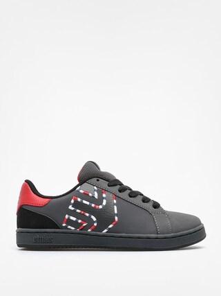 Buty dziecięce Etnies Kids Fader Ls (dark grey/red)