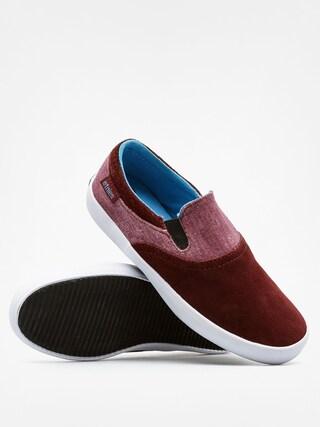 Buty dziecięce Etnies Kids Corby Slip (burgundy)