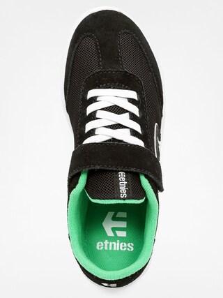 Buty dziecięce Etnies Kids Lo Cut Sc (black/green)