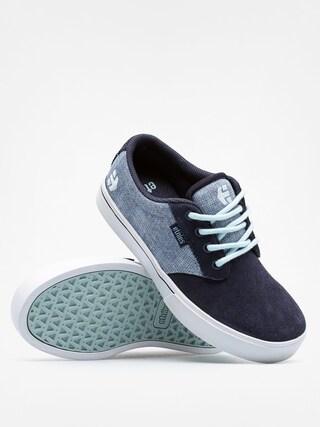 Buty dziecięce Etnies Kids Jameson 2 Eco (blue/white/blue)