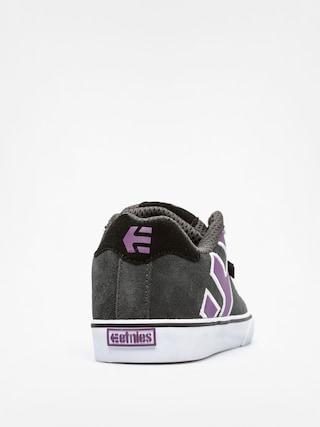Buty dziecięce Etnies Kids Fader Vulc (dark grey)