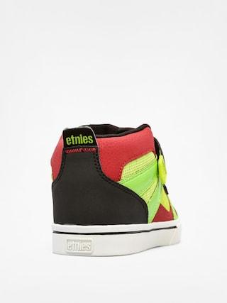Buty dziecięce Etnies Kids Decade (black/lime)
