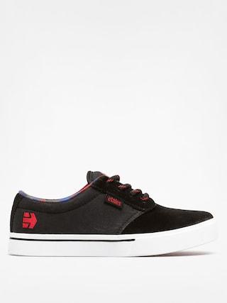Buty dziecięce Etnies Kids Jameson 2 ECO (black/red)