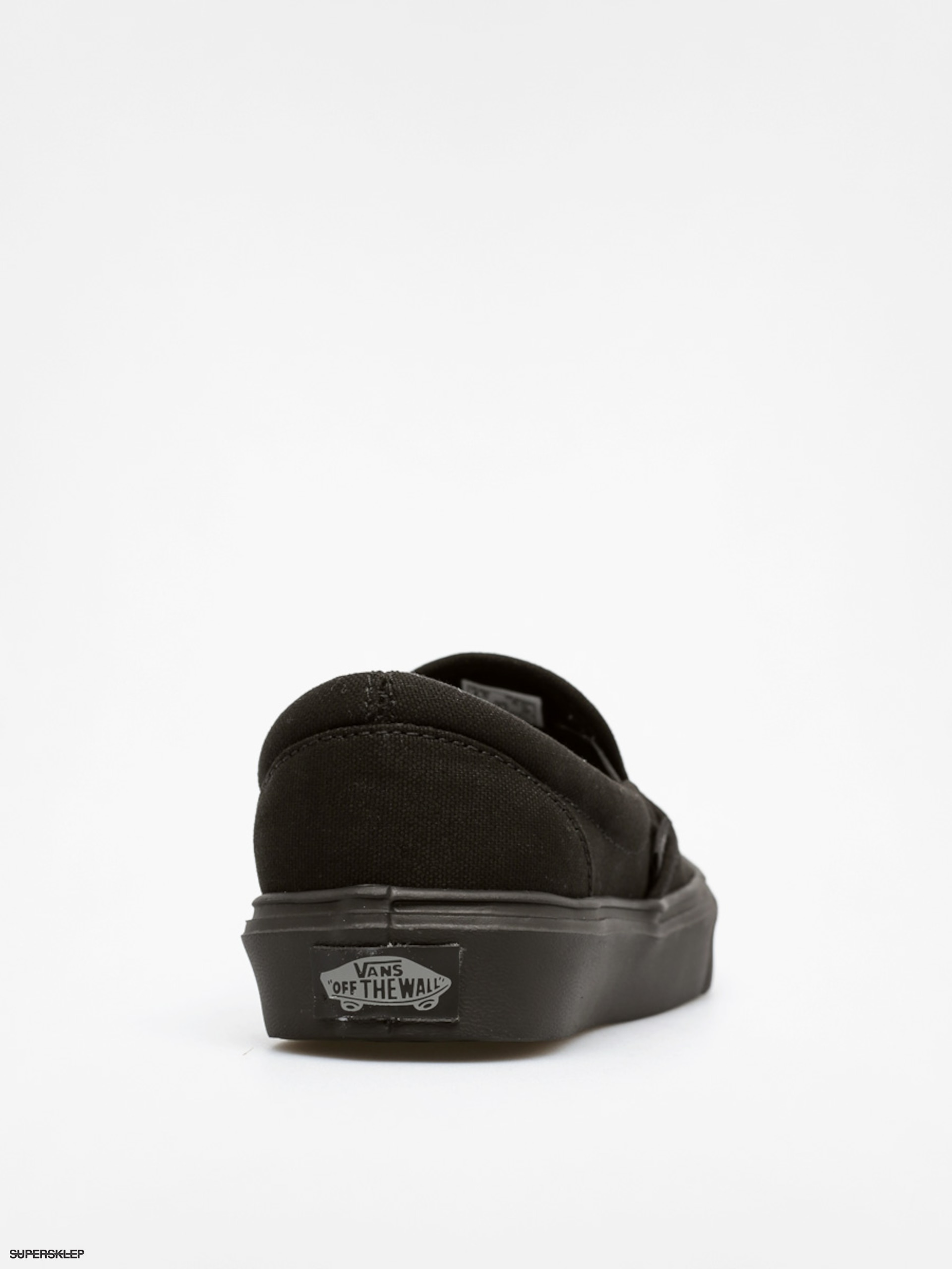 Vans Slip On Lite Leather Black Black | Footshop