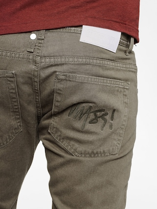 Spodnie MassDnm Signature Jogger Sneaker Fit (olive green)