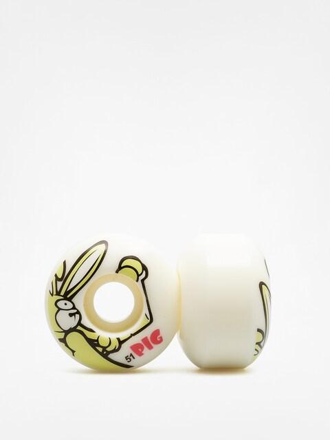 Kółka Pig Rabbit (white/yellow)