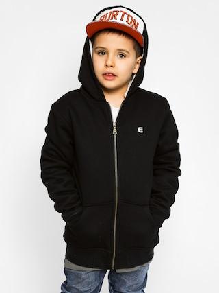 Dziecięca bluza z kapturem Etnies E Sherpa Zip (black)