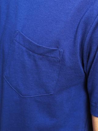 T-shirt DC Basic Pocket (blue)
