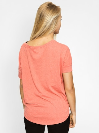 T-shirt Roxy Boxybohoborder Wmn (heather light red)