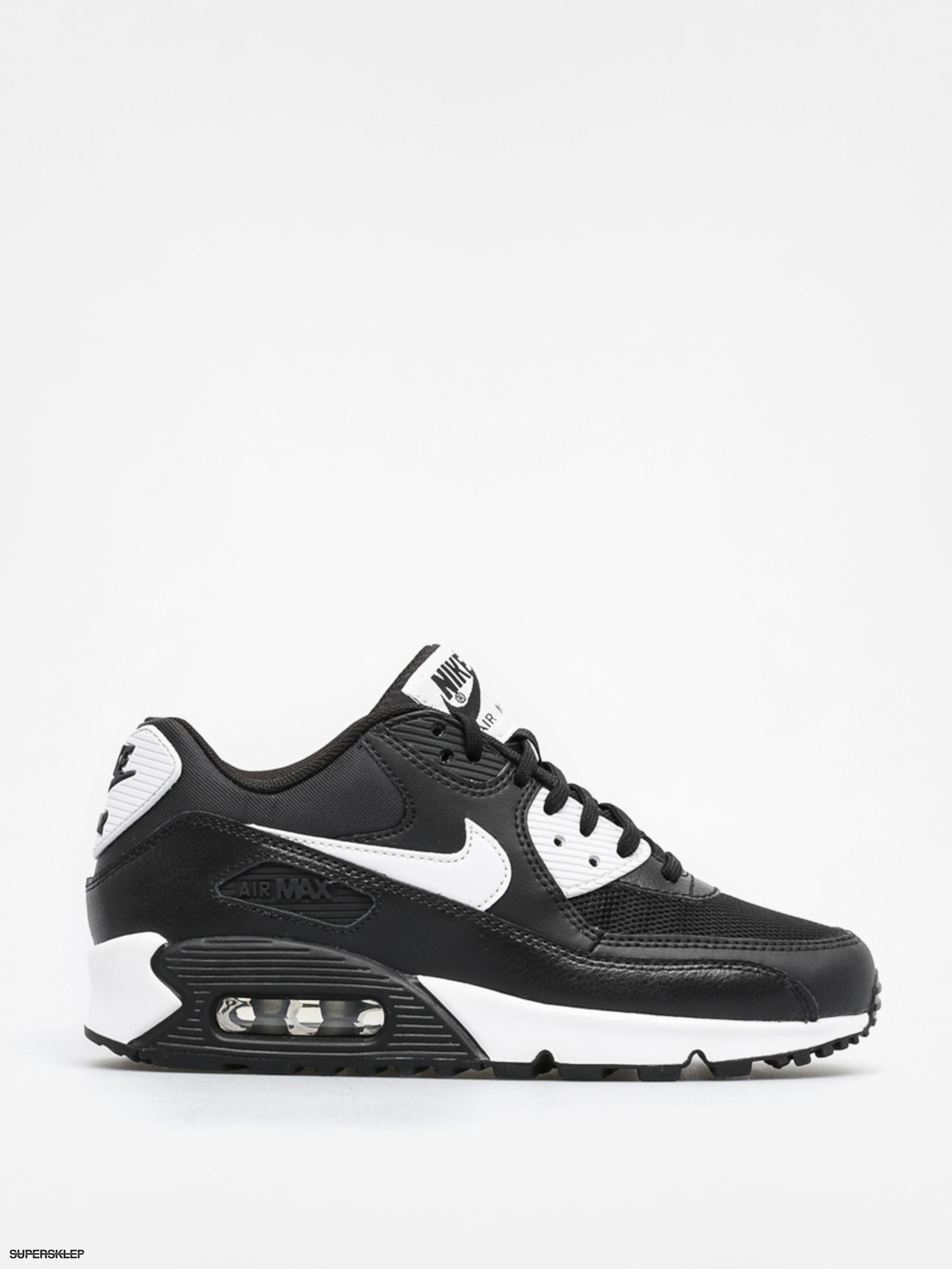 Buty Nike Air Max 90 Wmn (Essential black/white metallic silver)