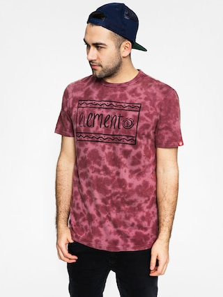 T-shirt Element Future Nature (oxblood red)