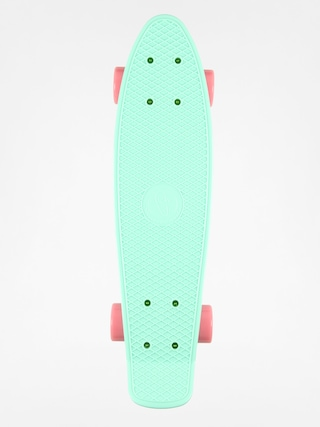Deskorolka cruiser Fish Skateboards 01 (sum green/silver/pink)