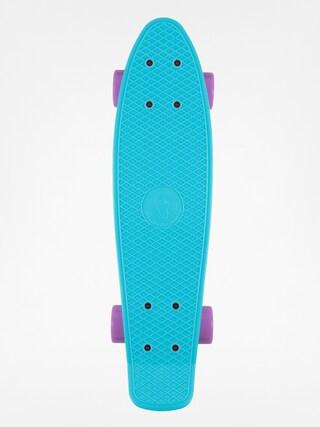 Deskorolka cruiser Fish Skateboards 01 (sum blue/silver/purple)