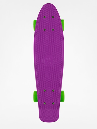 Deskorolka cruiser Fish Skateboards 02 (purple/white/green)