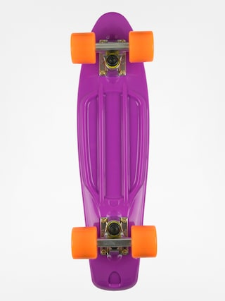 Deskorolka cruiser Fish Skateboards 01 (purple/silver/orange)