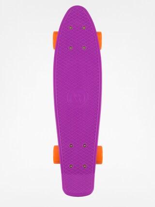 Deskorolka cruiser Fish Skateboards 01 (purple/silver/orange)