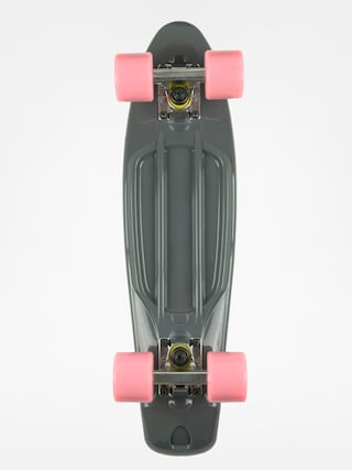 Deskorolka cruiser Fish Skateboards 01 (grey/silver/sum pink)