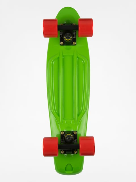 Deskorolka cruiser Fish Skateboards 02 (green/black/red)