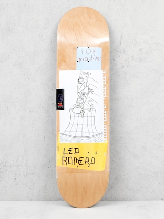 Deck Toy Machine Romero Scraps (white/yellowl)