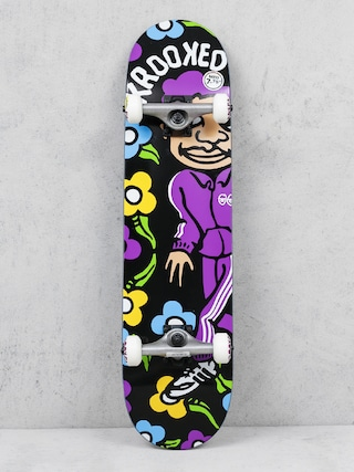 Deskorolka Krooked Sweatin Md (black/purple)