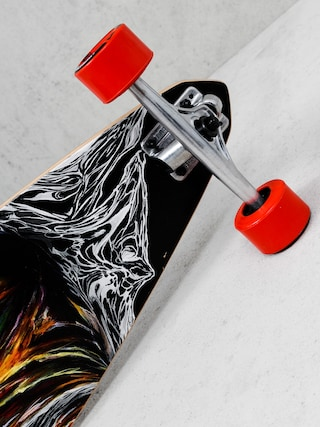 Longboard Lib Tech Attack Carver Comp (red orange multi/red)