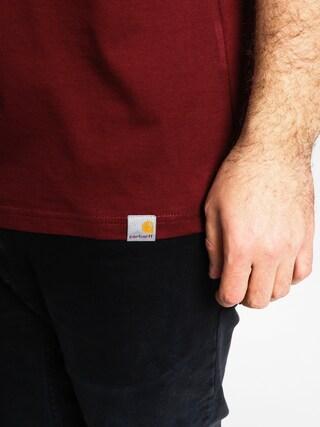 T-shirt Carhartt Mill 89 (cordovan/dark navy)