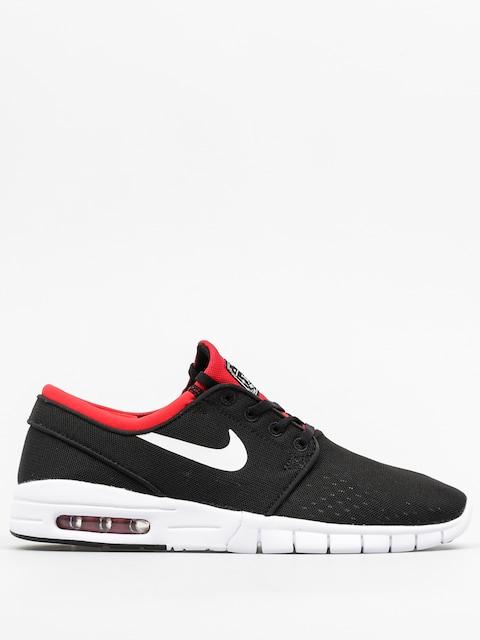 Buty Nike SB Stefan Janoski Max (black/white university red)