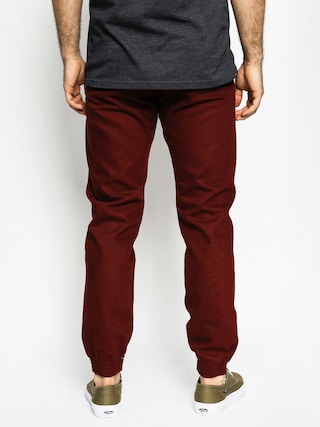 Spodnie Turbokolor Trainer Chino (burgundy)