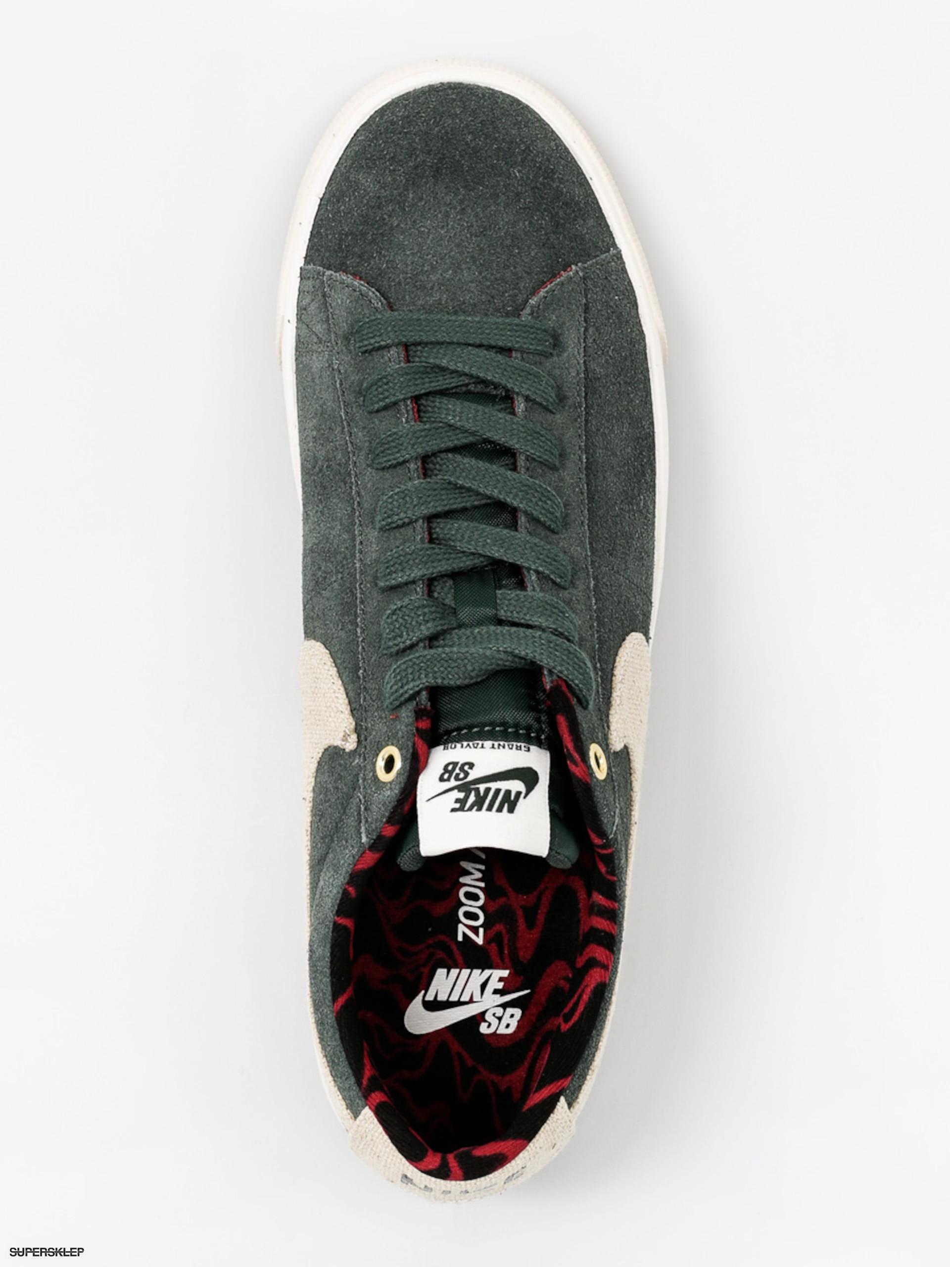 3d4fd05f166a Buty Nike SB Blazer Low GT (grove green phantom team red)