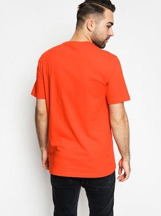 T-shirt Burton Logo Horizontal (fiery red)