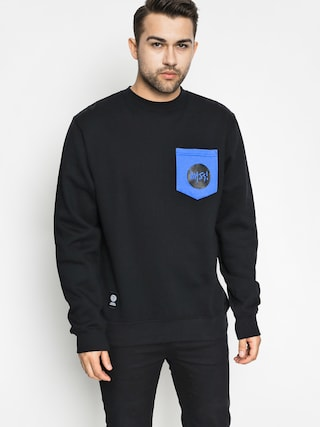 Bluza MassDnm Pocket Signature Crewneck (black)