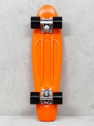 Deskorolka cruiser Playlife Vinyl (orange/black)