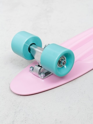 Deskorolka cruiser Playlife Vinyl (pink/cream blue)
