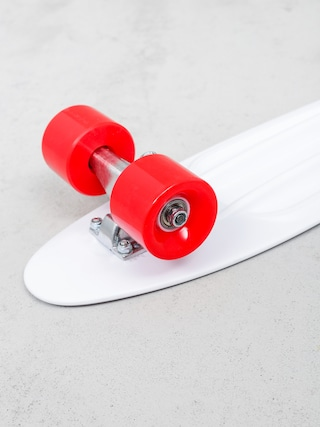 Deskorolka cruiser Playlife Vinyl (white/red)